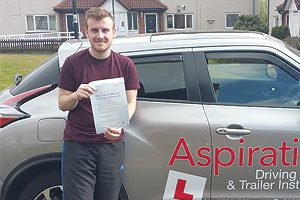 pupil passed first time gateshead
